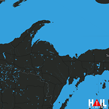 Hail Map MARQUETTE 06-15-2018