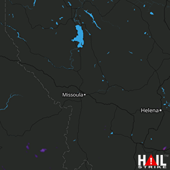 Hail Map MISSOULA 05-26-2018