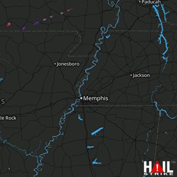 Hail Map West Plains, MO 11-30-2019