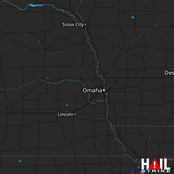 Hail Map Atchison, KS 05-15-2019