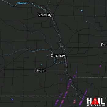 Hail Map Hiawatha, KS 05-22-2019