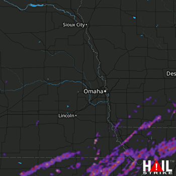 Hail Map Maryville, MO 05-29-2019