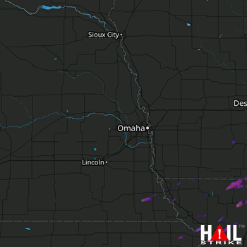 Hail Map Mayetta, KS 09-28-2019