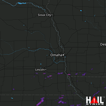 Hail Map Seneca, KS 05-14-2020