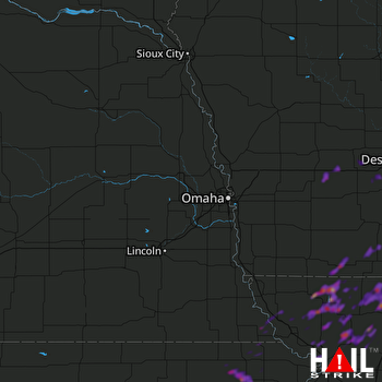 Hail Map Maryville, MO 05-14-2020
