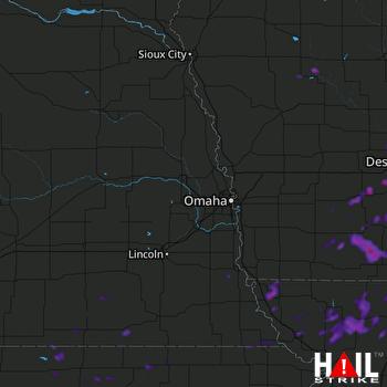 Hail Map Boone, IA 07-15-2020