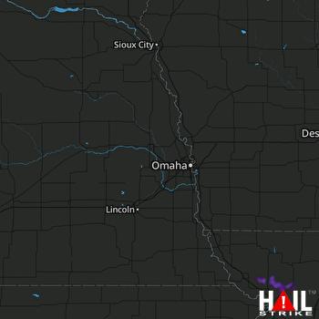 Hail Map Savannah, MO 08-07-2020