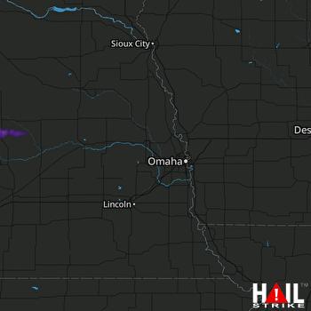 Hail Map Ord, NE 06-18-2021