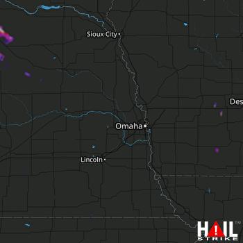 Hail Map Loup City, NE 09-05-2021