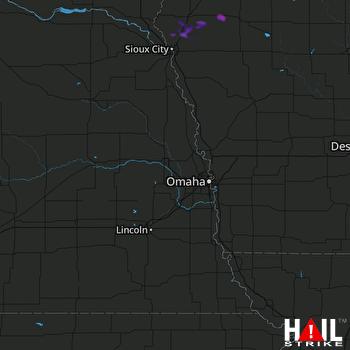 Hail Map Marcus, IA 08-24-2017
