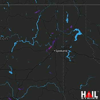 Hail Map SPOKANE 06-27-2017