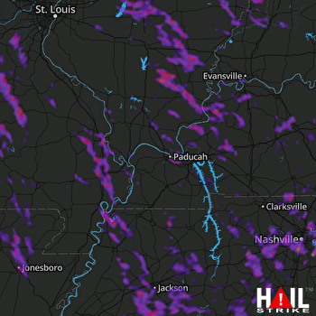 Hail Map Jonesboro, AR 08-07-2019