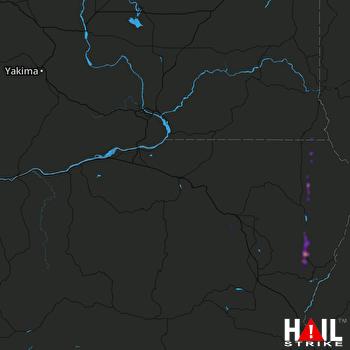 Hail Map PENDLETON 05-31-2020