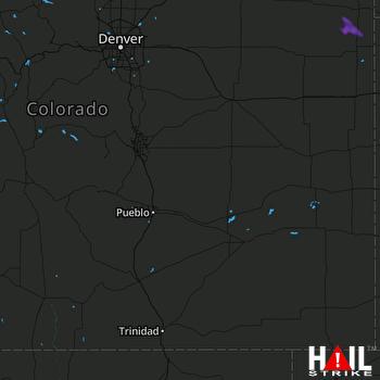 Hail Map PUEBLO 08-20-2019