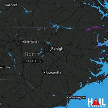 Hail Map Plymouth, NC 06-23-2018
