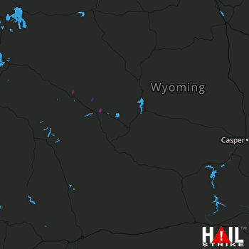 Hail Map RIVERTON 09-20-2019