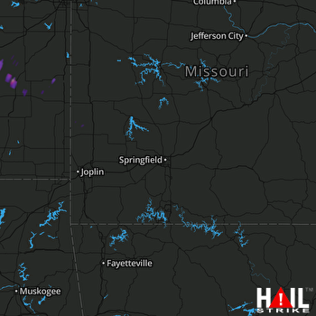 Hail Map Colony, KS 05-31-2017