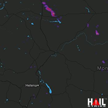 Hail Map Sunburst, MT 06-08-2018