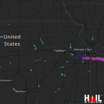 Hail Map Independence, MO 03-27-2020