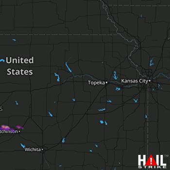 Hail Map Sterling, KS 04-20-2020