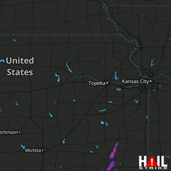 Hail Map Independence, KS 05-11-2017