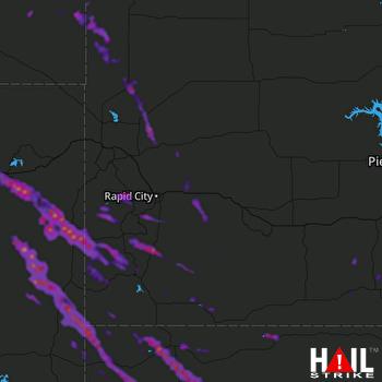 Hail Map Alliance, NE 07-10-2021