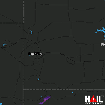Hail Map RAPID CITY 04-19-2017