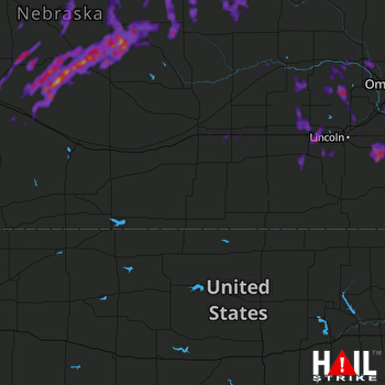 Hail Map Nebraska City, NE 05-24-2020