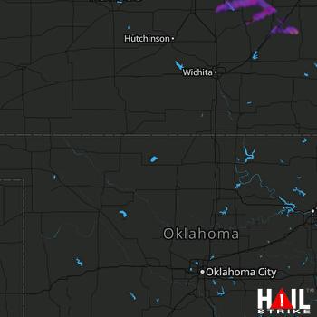 Hail Map Salina, KS 05-04-2020