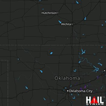 Hail Map Sparks, OK 05-03-2018