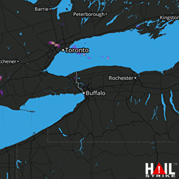 Hail Map BUFFALO 07-07-2017
